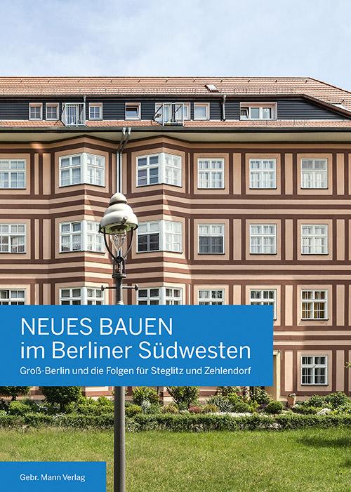 Titelbild des Buches: Neues Bauen im Berliner Südwesten